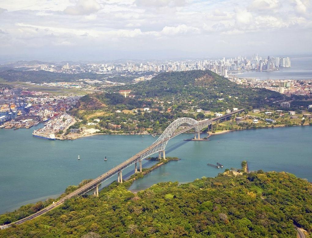 Panamakanal - historische Schleusen
